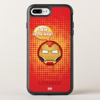 """I Am Iron Man"" Emoji OtterBox Symmetry iPhone 8 Plus/7 Plus Case"