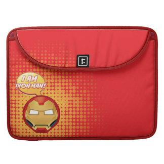 """I Am Iron Man"" Emoji Sleeve For MacBook Pro"