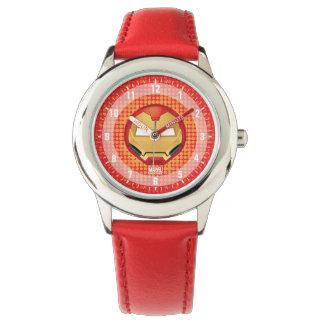 """I Am Iron Man"" Emoji Wrist Watches"