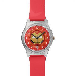 """I Am Iron Man"" Emoji Wristwatches"
