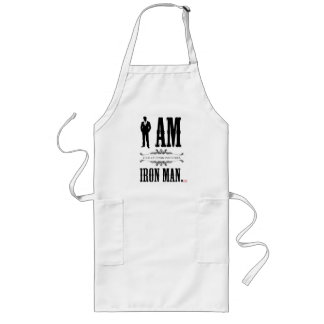 I Am Iron Man Long Apron