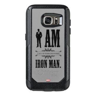 I Am Iron Man OtterBox Samsung Galaxy S7 Case