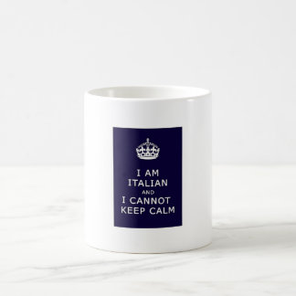 I am Italian and I cannot keep calm Coffee Mug