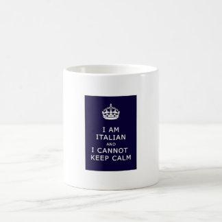 I am Italian and I cannot keep calm Coffee Mug