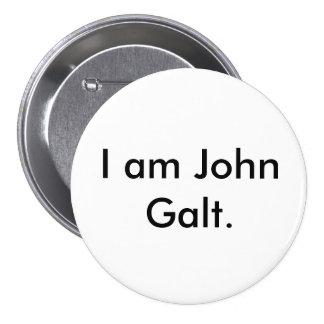 I am John Galt. 7.5 Cm Round Badge