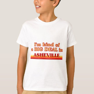 I am kind of a BIG DEAL in Asheville T-Shirt