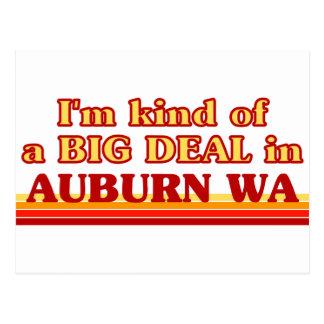 I am kind of a BIG DEAL in Auburn Postcard
