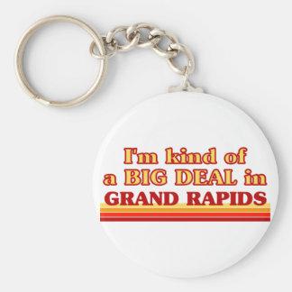 I am kind of a BIG DEAL in Grand Rapids Key Chain