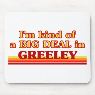 I am kind of a BIG DEAL in Greeley Mouse Pads