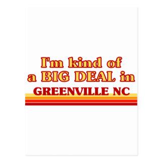 I am kind of a BIG DEAL in Greenville Postcard