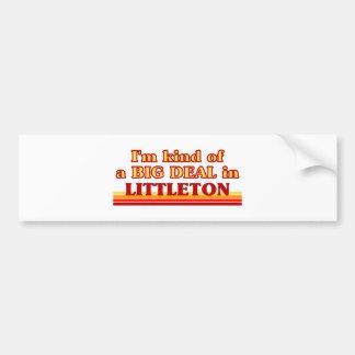 I am kind of a BIG DEAL in Littleton Bumper Sticker