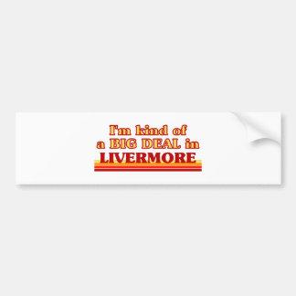 I am kind of a BIG DEAL in Livermore Bumper Sticker