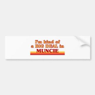 I am kind of a BIG DEAL in Muncie Bumper Stickers