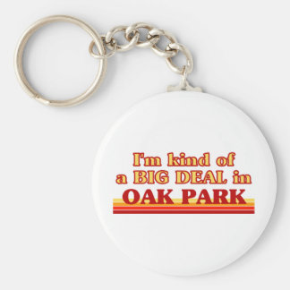 I am kind of a BIG DEAL in Oak Park Key Ring