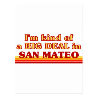 I am kind of a BIG DEAL in San Mateo Postcard