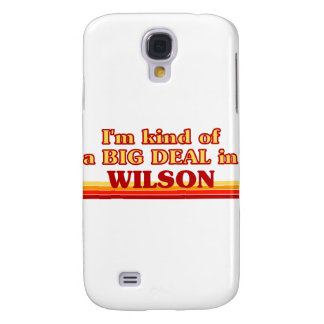 I am kind of a BIG DEAL in Wilson Galaxy S4 Cases