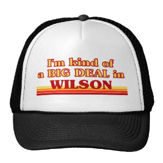 I am kind of a BIG DEAL in Wilson Trucker Hats