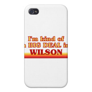 I am kind of a BIG DEAL in Wilson iPhone 4 Cases