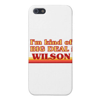 I am kind of a BIG DEAL in Wilson iPhone 5 Covers