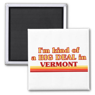 I am kind of a BIG DEAL on Vermont Magnet