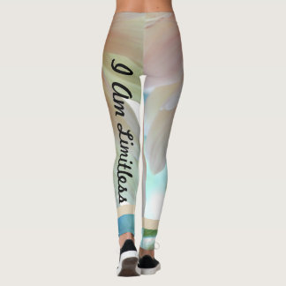 I Am Limitless Dahlia Yoga Leggings