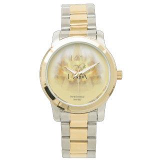 I AM Logo - Two Tone Watch