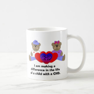 I am making a difference in the lifeof a child ... coffee mug