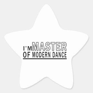 I Am Master Of Modern Dance Sticker