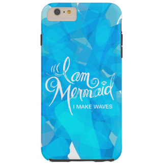 I Am Mermaid, I make Waves - phone case