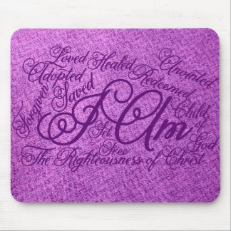 I Am Message mouse pad