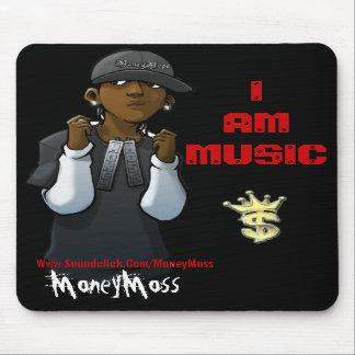 I AM MUSIC MOUSEPAD