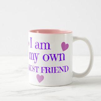 I am my Best Friend Two-Tone Mug
