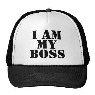 I am My Boss. Slogan. Cap