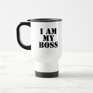 I am My Boss Slogan Coffee Mug