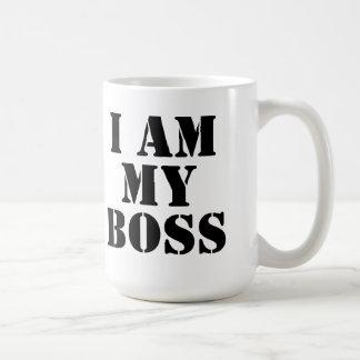 I am My Boss. Slogan. Mug