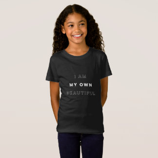 """""""I am my own beautiful"""" t-shirt for youth"""