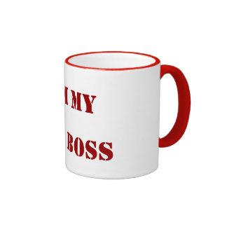 I AM MY OWN BOSS COFFEE MUGS