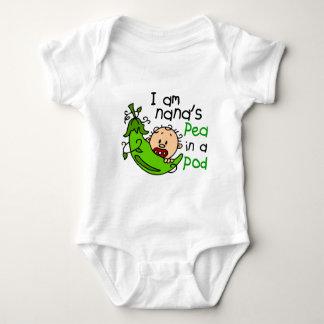 I Am Nana's Pea In A Pod 1 Baby Bodysuit