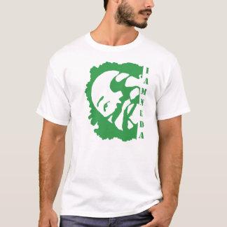 i am neda green t-shirt