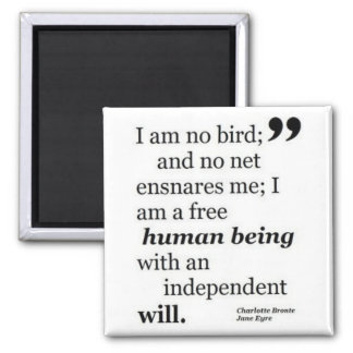 I Am No Bird Fridge Magnet