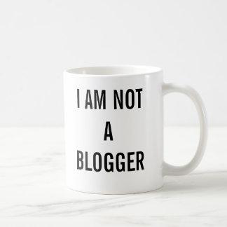 I am not a blogger mug