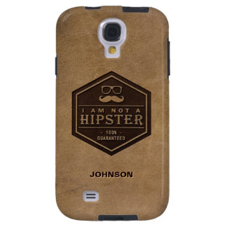 I am not a Hipster 100% Guaranteed Funny Mustache Galaxy S4 Case