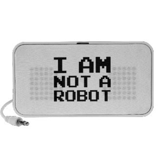 I Am Not A Robot Laptop Speakers