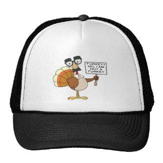 I AM NOT A TURKEY (THANKSGIVING) CAP