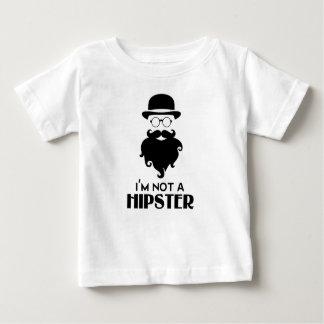 I am not Hipster Baby T-Shirt