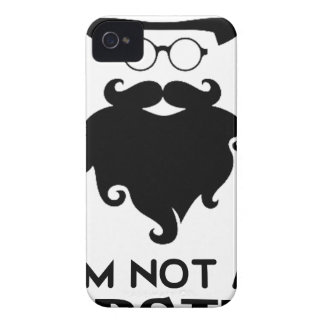 I am not Hipster iPhone 4 Cover