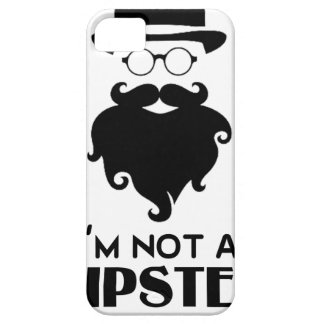 I am not Hipster iPhone 5 Case