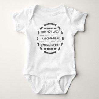 I am not lazy i am on energy saving mode baby bodysuit