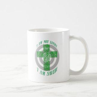 I am not Luck, I am saved! Coffee Mug