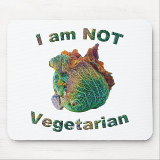 I Am Not Vegetarian Mouse Pad